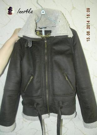 Куртка-дубленка denim co