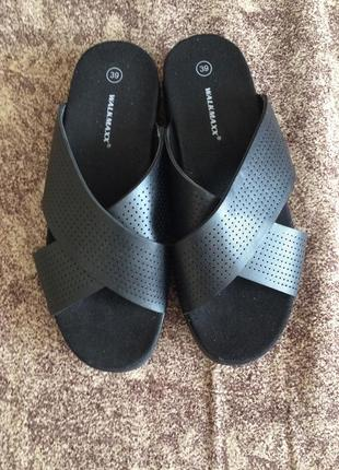 Босоножки шлёпанцы сандали
