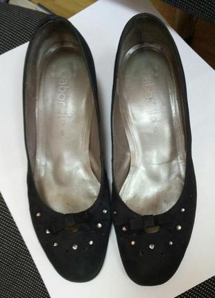 Туфли черные gabor