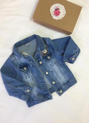 Waikiki джинсовая курточка с вышивкой
