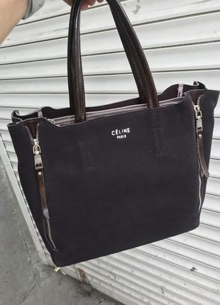 Кожаная сумка сумка кожаная замшевая