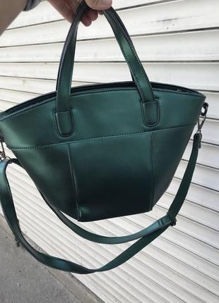 Кожаная сумка сумка кожаная с перламутром