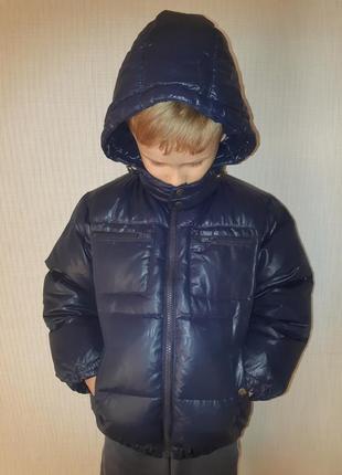Пуховая куртка мальчику 110-116