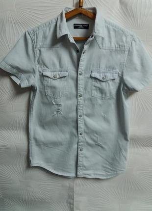 Трендовая фирменная рубашка