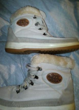 Зимние ботиночки на полиуретановой подошве