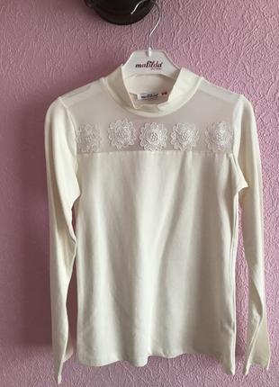 Блуза для девочки на рост 128,140,152,164