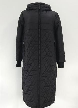 Премиум куртка батальная черная {52-60}