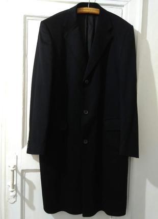 Кашемировое пальто hugo boss