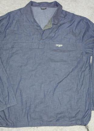 Ddp анорак джинсовая куртка ветровка