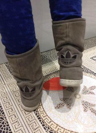 ... Зимние кожаные сапоги adidas оригинал каждодневное обновление -подписуйтесь5 44a278fe503