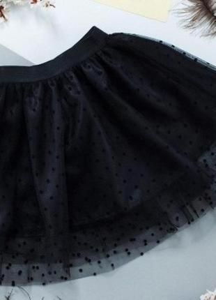Фатиновые юбочки в горошек!в наличии есть разные размера!розпродажа!1 фото