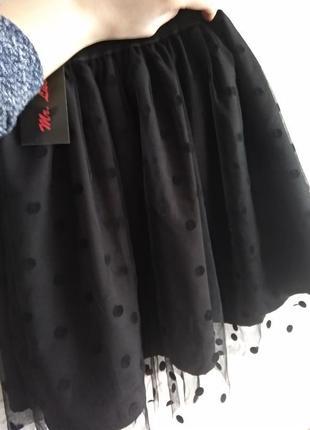 Фатиновые юбочки в горошек!в наличии есть разные размера!розпродажа!2 фото