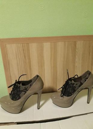 Туфли-ботильоны
