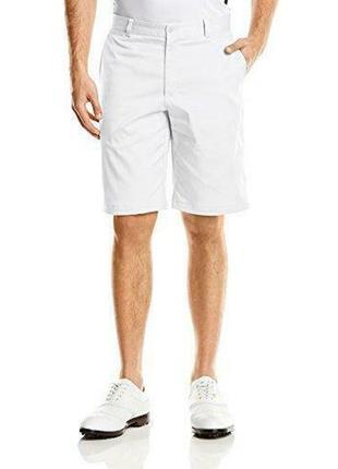 Супер шорты от nike golf dri-fit flat front shorts white 639798-100