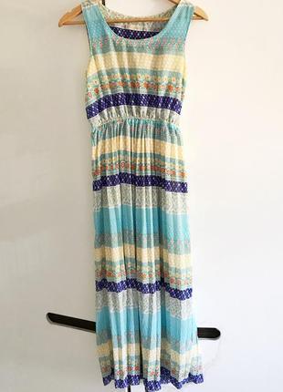 Сарафан платье миди гофре epiffani