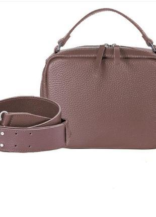 Стильная сумка из натуральной кожи,кросбоди, клатч, сумка с длинным ремешком