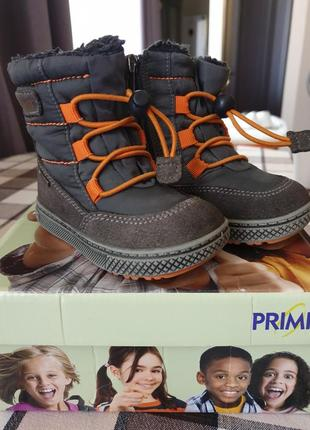 """Сапоги, сапожки зимние для мальчика фирмы """"primigi"""", размер 21"""