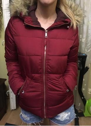 Куртка жіноча осінь-весна bershka, розмір s, куртка женская