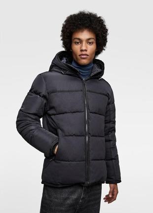 Зимняя куртка zara р xl -l