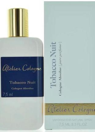 Atelier cologne tobacco nuit_original_cologne 7 мл затест_одеколон