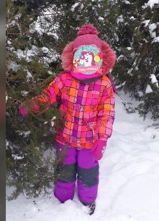 Зимний комбинезон комплект deux par deux(канада) 3-5 лет