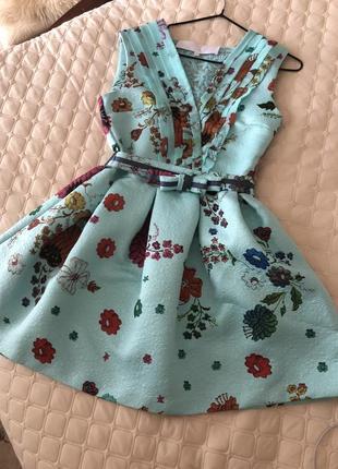 Супер сукня в квіточку