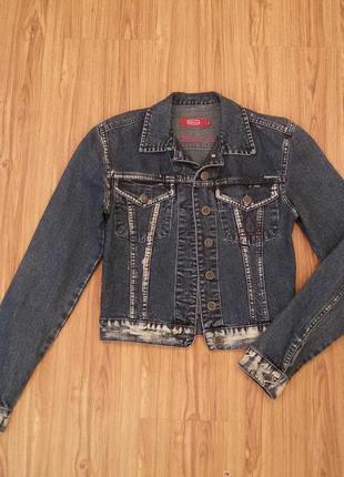 Джинсовка джинсовая куртка пиджак ветровка