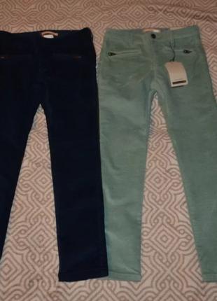 Новые скинни брюки штаны zara 9-10 лет рост 140 англия