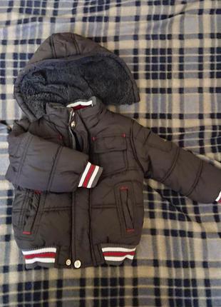 Лот 1 новая куртка детская зимняя
