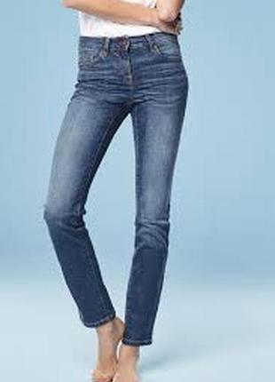 Базовые джинсы next slim fit скини на м размер