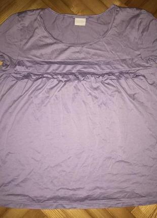 Hanro, комфортная хлопковая футболка от швейцарского преміум бренда! р.-40/42