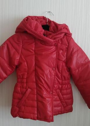 5 6 лет tommy hilfiger куртка на девочку куртка на дівчинку дутік