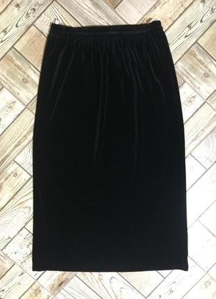 Бархатная,вилюровая юбка eastex
