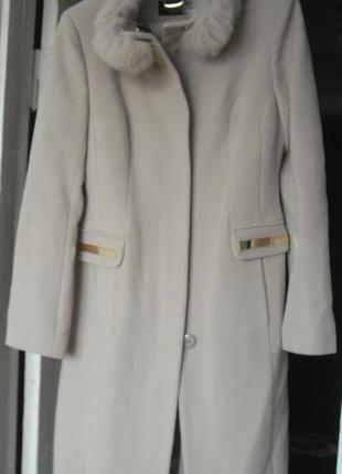 Кашемировое пальто новое со скидкой!!!