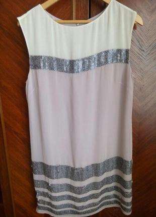 Платье с паетками1