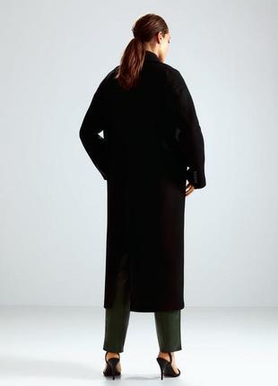 Zara пальто oversized, шерсть. xs-s, m-l