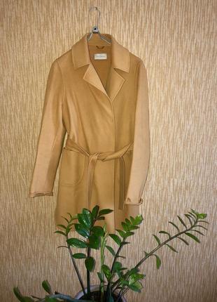 Эксклюзивное пальто в стиле милитари  от levinson,90% шерсти   ⭐️