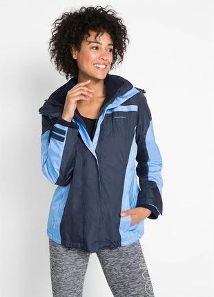 Куртка 2 в 1, бренда bonprix с капюшоном, р. 58-62