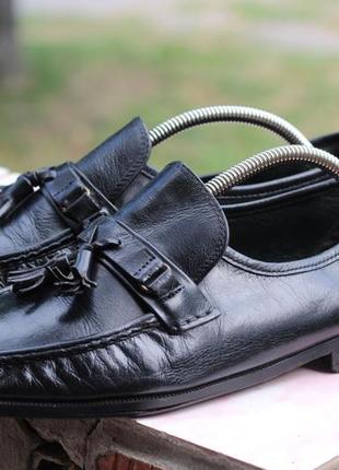 Качественные  туфли мокасины натуральная кожа