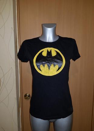 Футболка с логотипом бэтмен batman