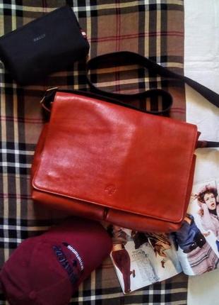 Крутая кожаная сумка mulberry