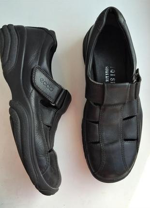Кожаные сандалии ecco босоножки 40 р.