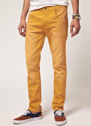 Супер джинсы горчичного цвета от castro jeans, p.26
