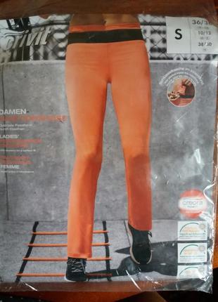 Функциональные женские спортивные брюки crivit германия р. 36/38 евро
