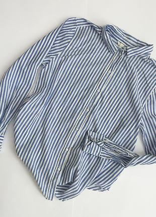 Рубашка в смужку