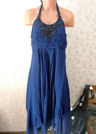 Платье шелк