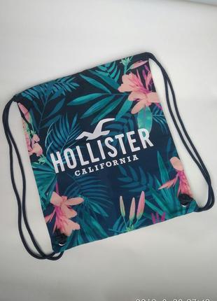 Пляжная сумка рюкзачек hollister