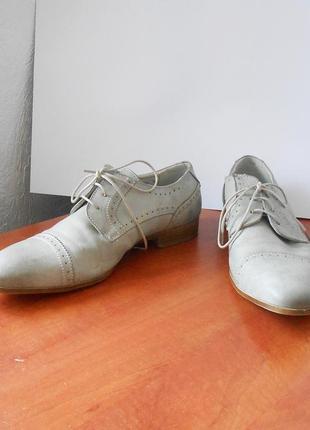 Стильные мужские туфли от бренда venice, р.42 код n4204