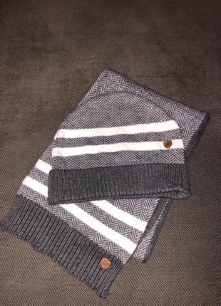 Комплект шапка+шарф mayoral