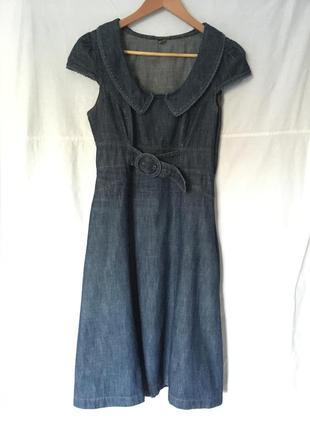 Новое женское джинсовое платье. размер 46-48.